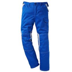 Kübler Arbeitshose, mit Kniepolstertaschen blau Herren Arbeitshosen Arbeits- Berufsbekleidung Arbeitshose