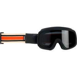 Biltwell Overland 2.0 Racer, Crossbrille - Schwarz/Orange Stark-Getönt