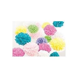 Bastel-Set Seidenpapierpompons  rosa