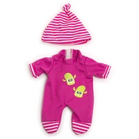 MINILAND BABY Puppenkleidung, - Strampler in pink,