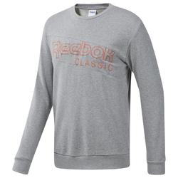 Reebok Classic Herren Sweatshirt grau / orange