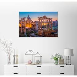 Posterlounge Wandbild, Das Forum Romanum 90 cm x 60 cm