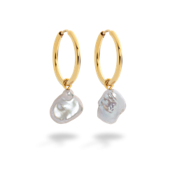 Ohrringe Treasure Pearl Gold