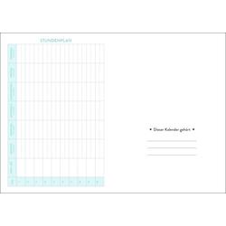 HEYE Taschenkalender Palmen Schüler-/Studentenkalender A5 - Kalender 2022