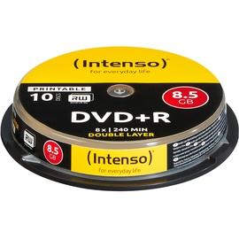 Intenso DVD+R 8.5GB DL 8x 10er Spindel printable