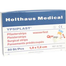 Pflasterstrips Ypsiplast Wasserf.1,9x7,2 cm