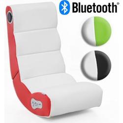 Wohnling Soundchair WOBBLE mit Bluetooth Musiksessel mit Lautsprechern Multimediasessel Music Chair