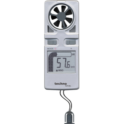 Windmesser EA 3010 mit Temperaturanzeige