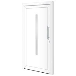 RORO Türen & Fenster Haustür Otto 20, BxH: 110x210 cm, weiß, ohne Griff