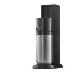 SodaStream DUO Wassersprudler titan - schwarz Trinkwasser-Sprudler