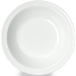 WACA Suppenteller, (Set, 4 St.), Melamin, Ø 20,5 cm weiß Teller Geschirr, Porzellan Tischaccessoires Haushaltswaren Suppenteller