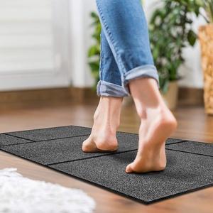 Floordirekt Schmutzfangmatte Geo mit geometrischem Design | waschbare Fußmatte | Sauberlaufmatte mit Rutschfester Rückseite | Türmatte in vielen Größen & Farben (105 x 150 cm)
