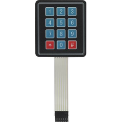 MAKERFACTORY MF-6402126 Folientastatur
