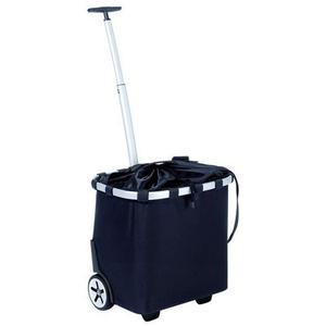 Reisenthel Carry-Cruiser Schwarz , Oe7003 , Metall, Textil , Innentasche, wasserabweisend, höhenverstellbarer Griff, Leichtlaufrollen , 0035550016