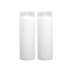 HS Candle Grabkerze (2-tlg), Nachfüllkerze 2er Pack, N1-N5, Ersatzkerze Grablicht 5,8 cm x 18 cm