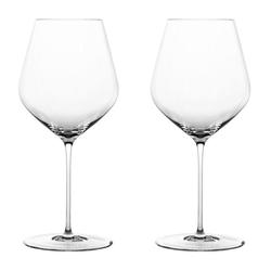 SPIEGELAU Gläser-Set Highline Burgunder 2er Set, Kristallglas