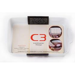 C3 Lasagneform 3 Platten Keramik