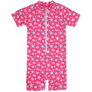 Sterntaler Kinder-Schwimmanzug in Gr. 74/80, pink, meadchen