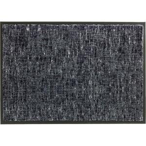 Schöner Wohnen Fußmatte Miami Design 003, Farbe 040 Gitter grau 67 x 150 cm