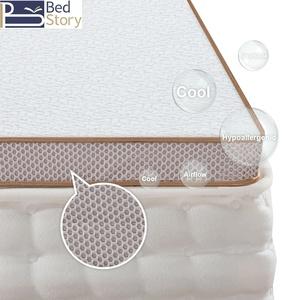 BedStory 7,6cm Gelschaum Topper Matratzentopper 2 in 1 Gel-HR Memory Foam H2+H3