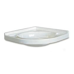 Eckwaschbecken für Wohnmobil & Wohnwagen 418 x 418 mm