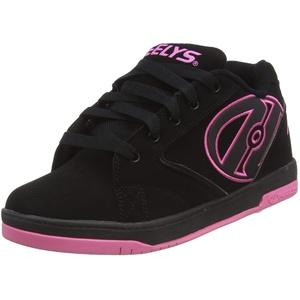 Heelys, Mädchen Propel 2.0 770291 Lauflernschuhe Sneakers, Mehrfarbig (Black/Hot Pink), 36.5 EU (4 UK)
