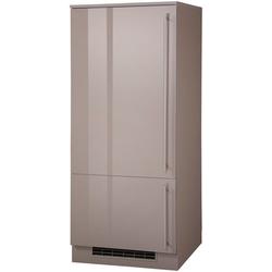 wiho Küchen Kühlumbauschrank Chicago 60 cm breit, für Einbaukühlschrank braun