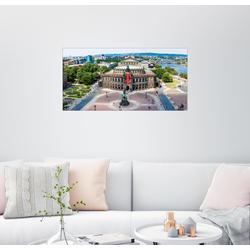 Posterlounge Wandbild, Semperoper, Dresden 100 cm x 50 cm