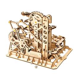 ROKR 3D-Puzzle Kugelbahn / Marble Run, 233 Puzzleteile