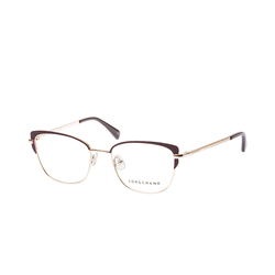 Longchamp LO 2108 602, inkl. Gläser, Cat Eye Brille, Damen