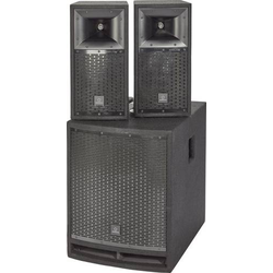 Renkforce M.A.R.L.I.S IV Aktives PA-Lautsprecher-Set inkl. Subwoofer