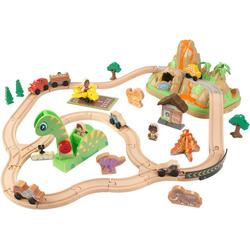 KidKraft® Spielzeug-Eisenbahn Dinosuarier Eisenbahn-Set