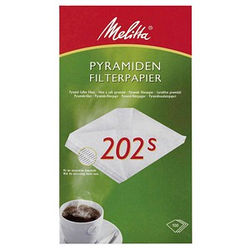 Melitta PYRAMIDEN FILTERPAPIER 202s Kaffeefilter
