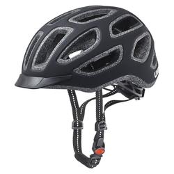 Uvex City E - Fahrradhelm Black 57-61 cm