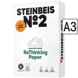 Recyclingpapier »Trend White« weiß, Steinbeis