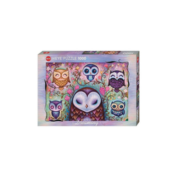HEYE Puzzle Puzzle Great Big Owl, Dreaming, 1.000 Teile, Puzzleteile