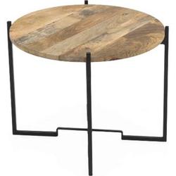Design Couchtisch Holztisch Metalltisch Beistelltisch Wohnzimmer Tisch