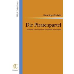 Die Piratenpartei als Buch von Henning Bartels