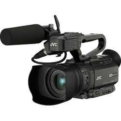 JVC GY-HM180E Camcorder (4K Ultra HD, 12x opt. Zoom)