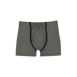 Trigema Boxershorts mit Hirsch grün XL