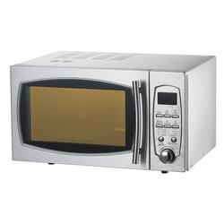 Mikrowelle - 483 x 442 x 281 mm - Gehäuse und Garraum aus Edelstahl