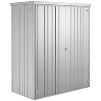1,55 x 0,83 x 1,83 m silber-metallic