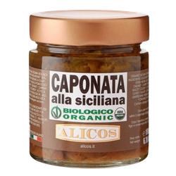 Sizilianische Caponata, BIO, 190g - Alicos