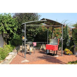 Leco XXL Profi Grillpavillon Pavillon Garten Terrasse Grill Überdachung 275cm