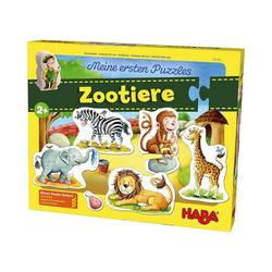 Haba Puzzle Meine ersten Puzzles - Zootiere, Puzzleteile