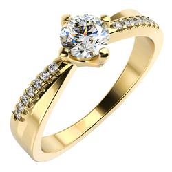 Verlobungsring mit Diamanten Sewyn