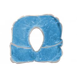 Gelkissen PRO blau für Kopfstütze