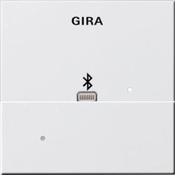Gira 228703, Aufsatz Apple Lightning Dockingstation System 55 Reinweiß