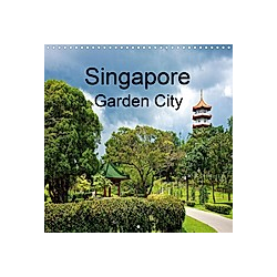 Singapore Garden City (Wall Calendar 2021 300 × 300 mm Square)