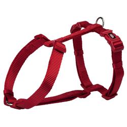 Trixie Premium H-Geschirr rot, Maße: 60-80 cm / 25 mm